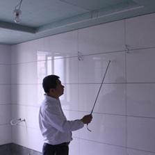 无论使用什么墙面材料,均保证墙面100%垂直平整。